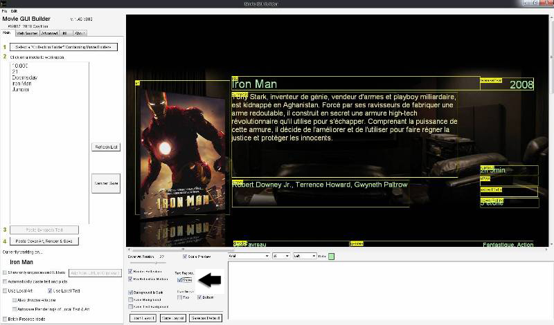[Topic Unique] Movie GUI Builder     (Tuto, Lien, Astuces)